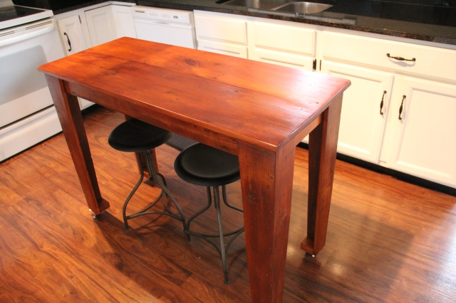 Matching Kitchen Prep Table That Went With A Harvest