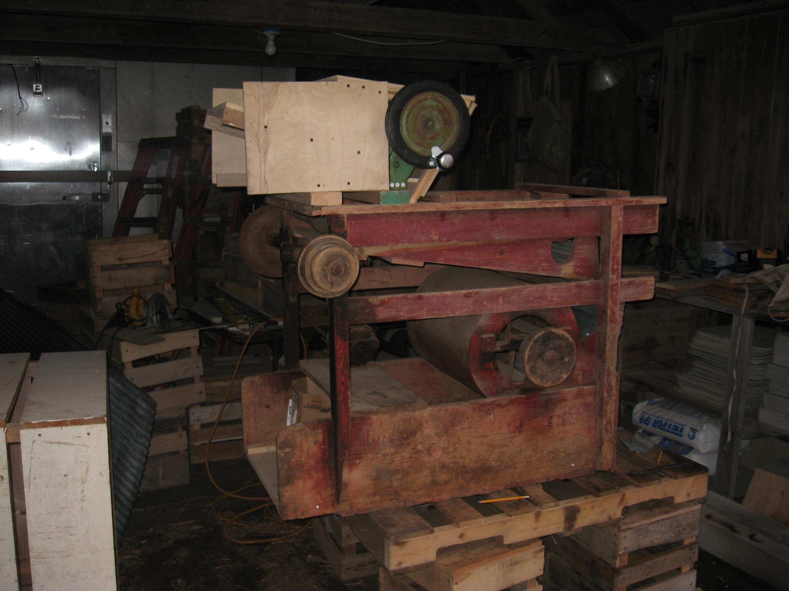 Small Grain Thresher Plans Www Topsimages Com