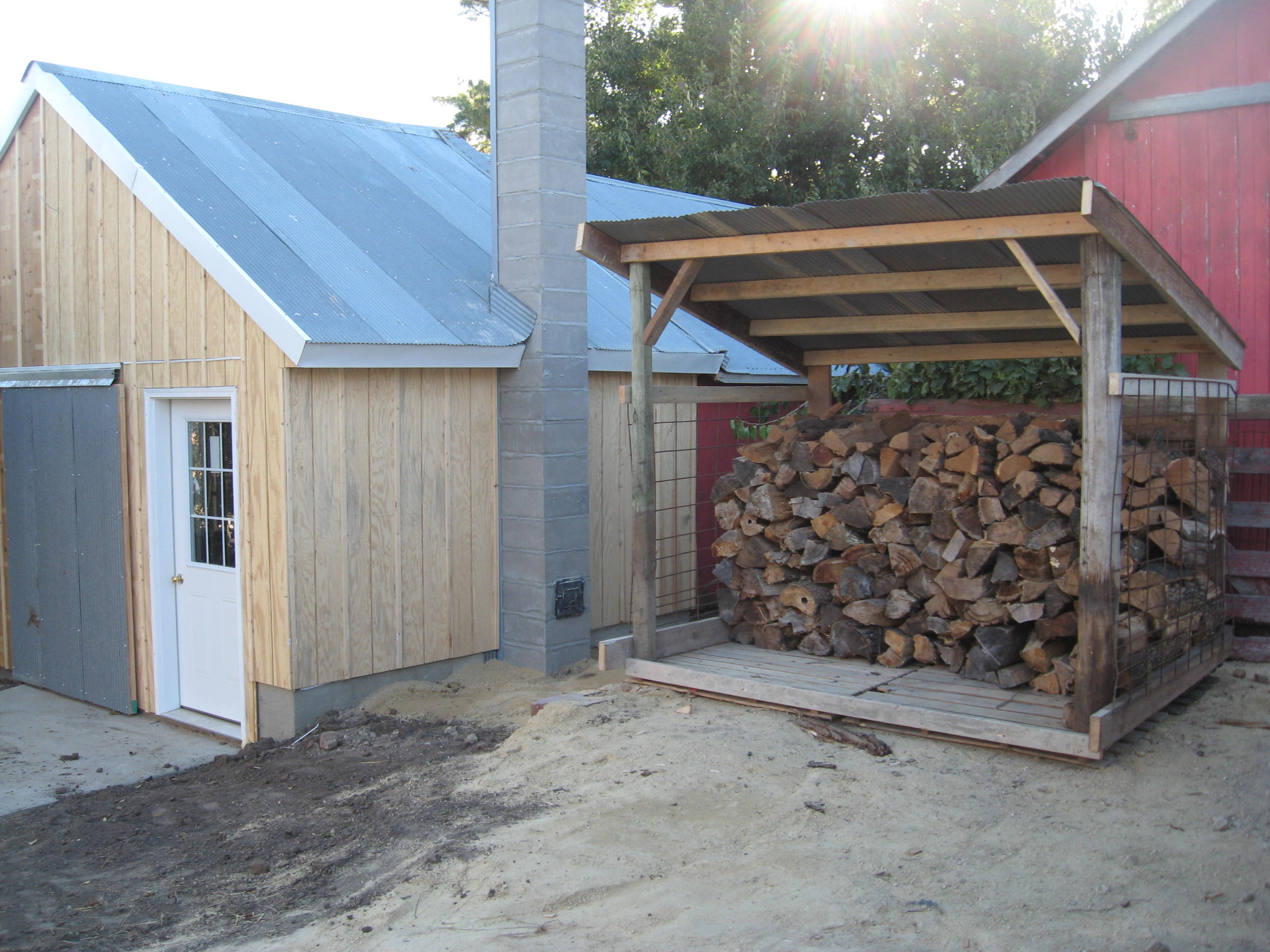 Project Imi Get 4 Cord Firewood Shed Plans
