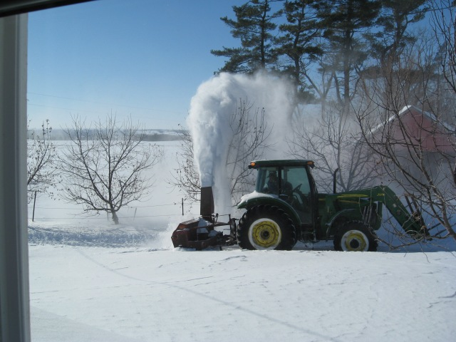 neighbor snowblowing  us out2