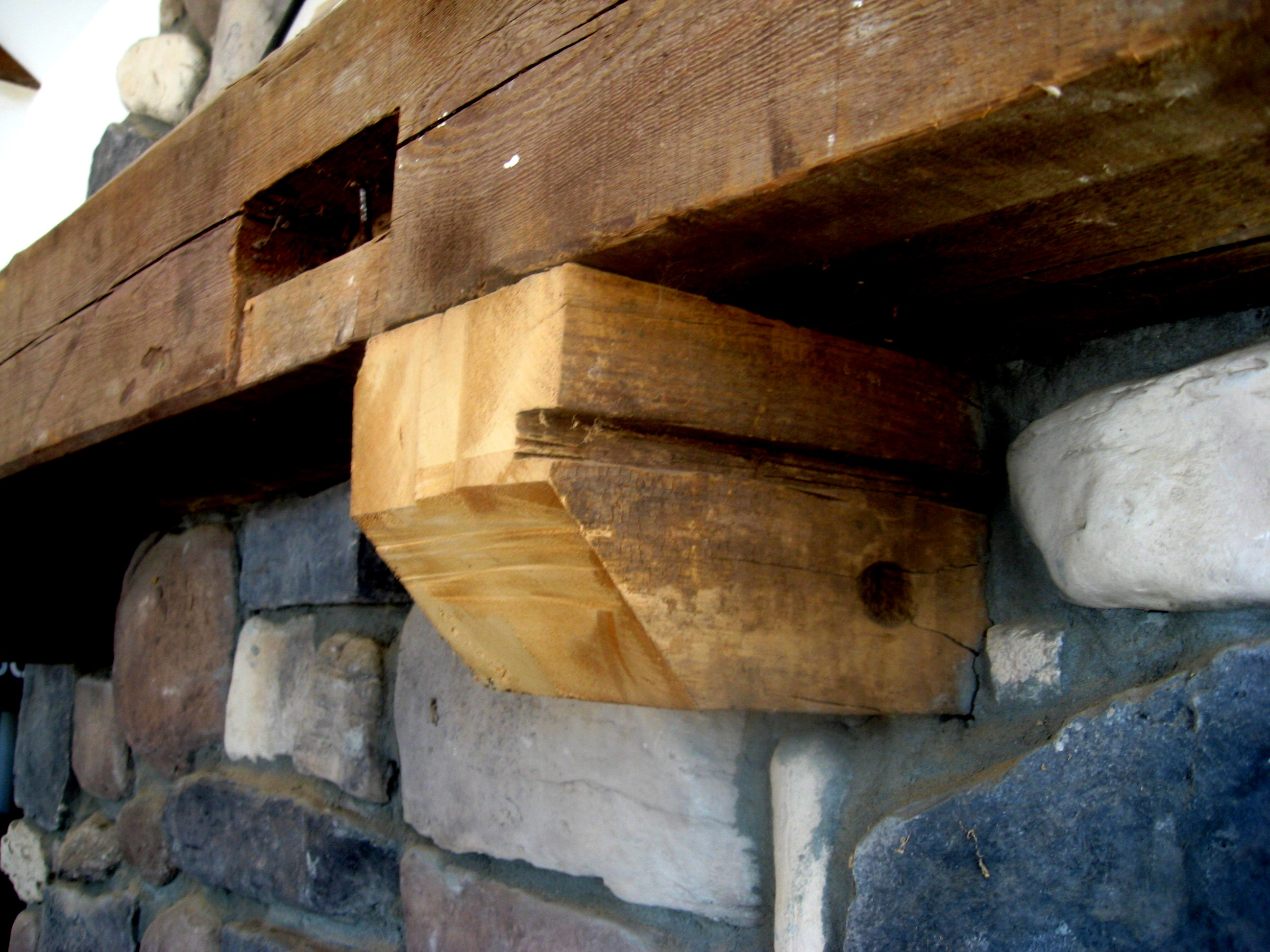 Let me build you a barn beam mantle! | I also live on a farm